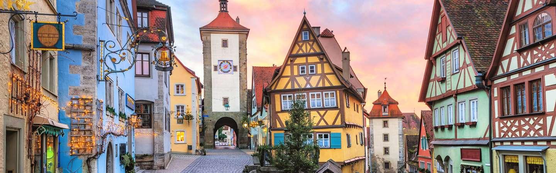 Bayern Reiseziel Rothenburg